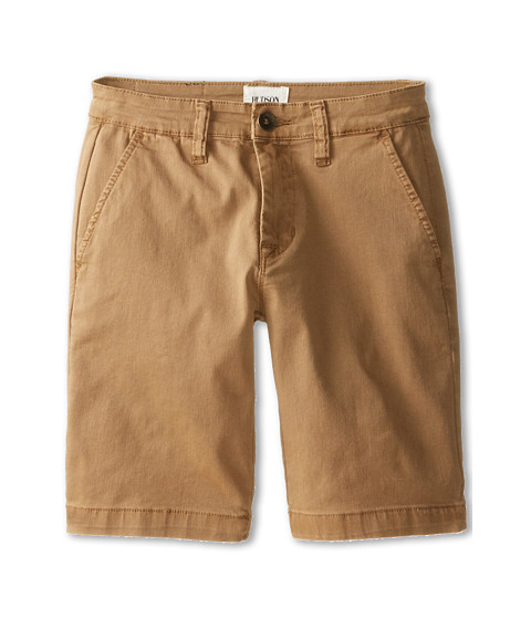 Hudson Kids - Chino Shorts in Bit Oh Honey (Big Kids) (Bit Oh Honey) Boy
