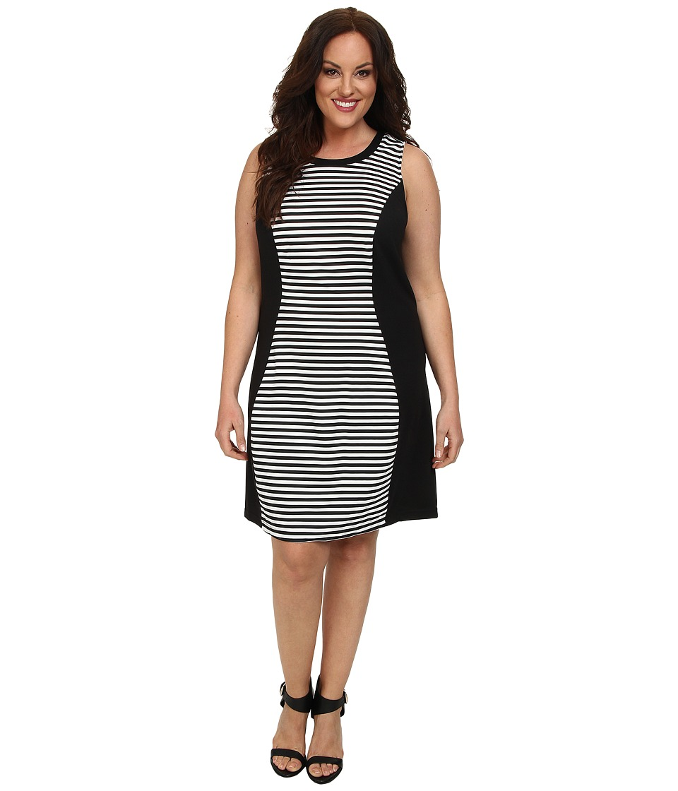 BB Dakota - Plus Size Elin Dress (Black) Women's Dress