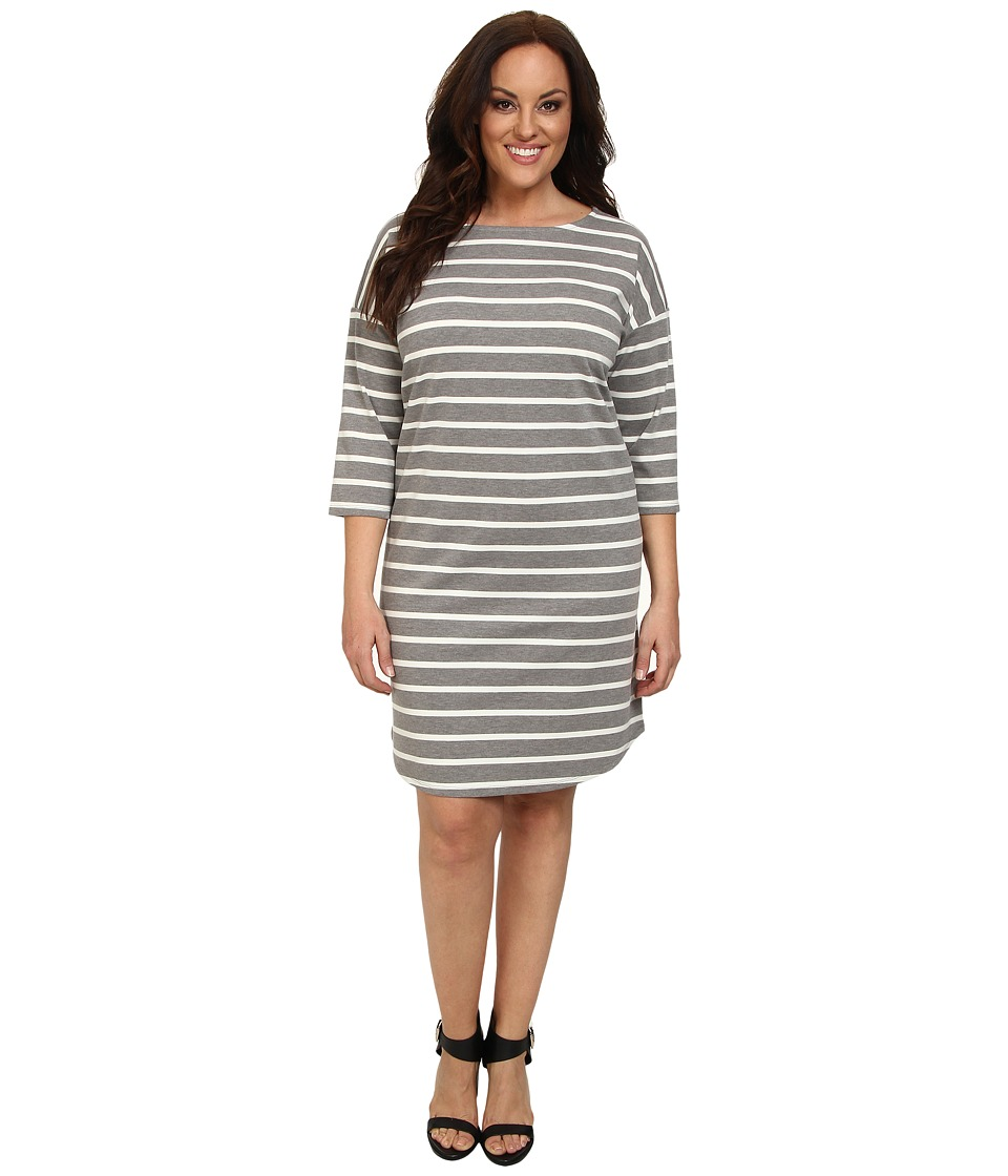 BB Dakota - Plus Size Iva Dress (Medium Heather) Women