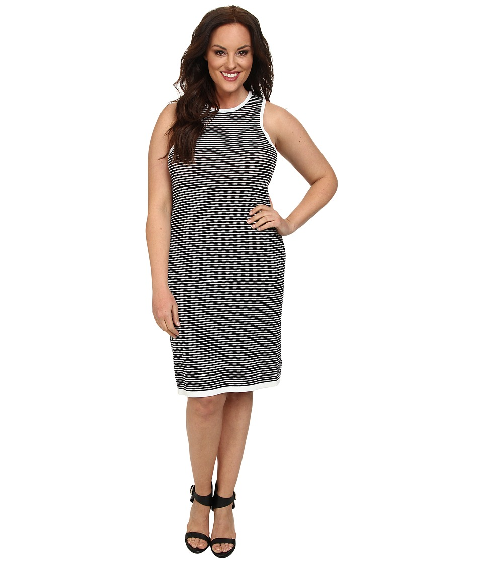 BB Dakota - Plus Size Lacloe Dress (Black) Women's Dress
