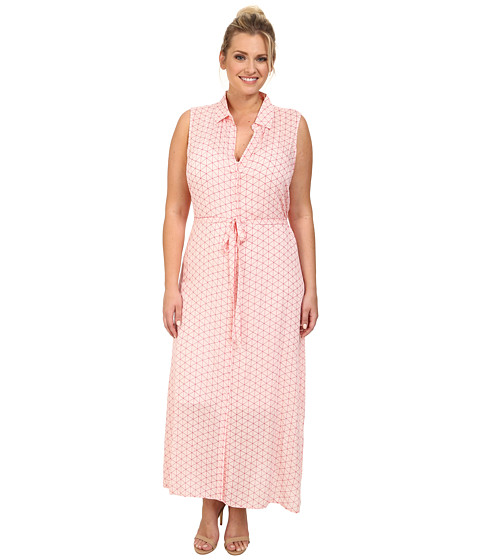 BB Dakota - Plus Size Mandy Dress (Powder Puff) Women