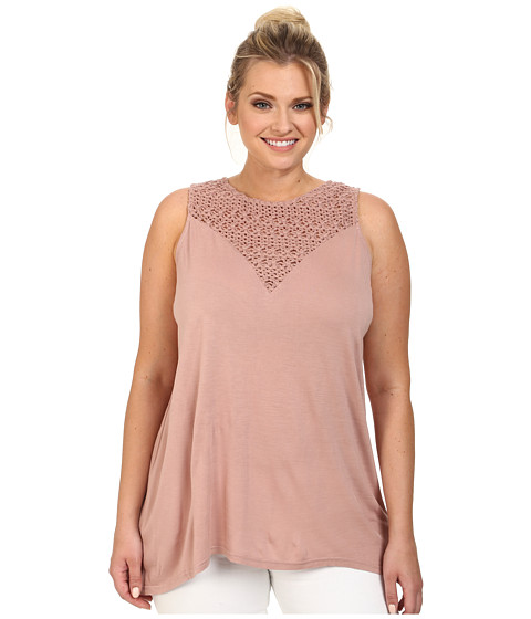 BB Dakota - Plus Size Maja Knit (Nude Protest) Women