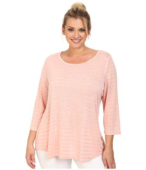 BB Dakota - Plus Size Parson Knit (Bellini) Women