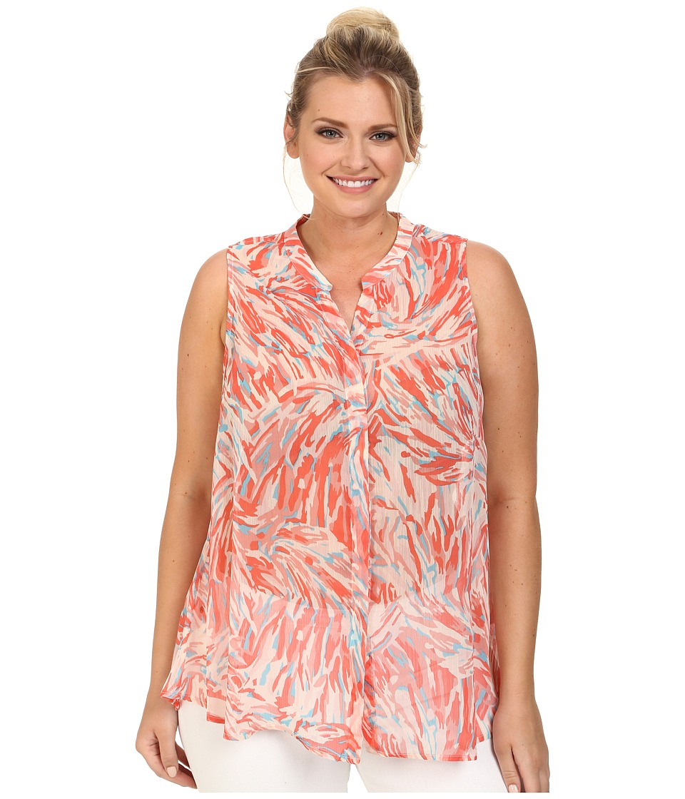 BB Dakota - Plus Size Everdell Woven (Bellini) Women's Clothing