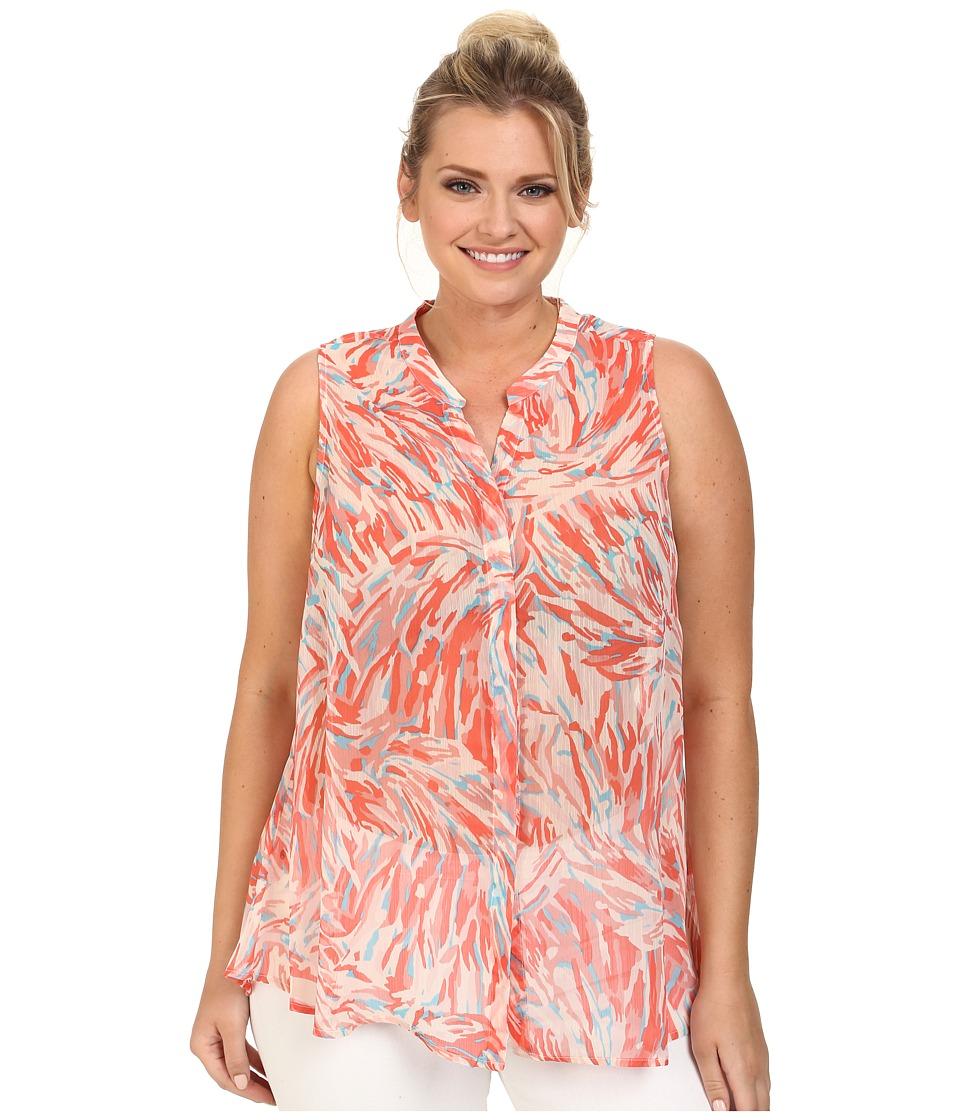 BB Dakota - Plus Size Everdell Woven (Bellini) Women's Clothing
