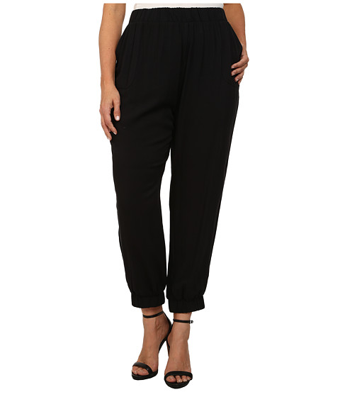 BB Dakota - Plus Size Hue Pants (Black) Women's Casual Pants
