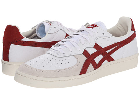 Onitsuka Tiger by Asics - OT Tennis (White/Burgundy) Shoes