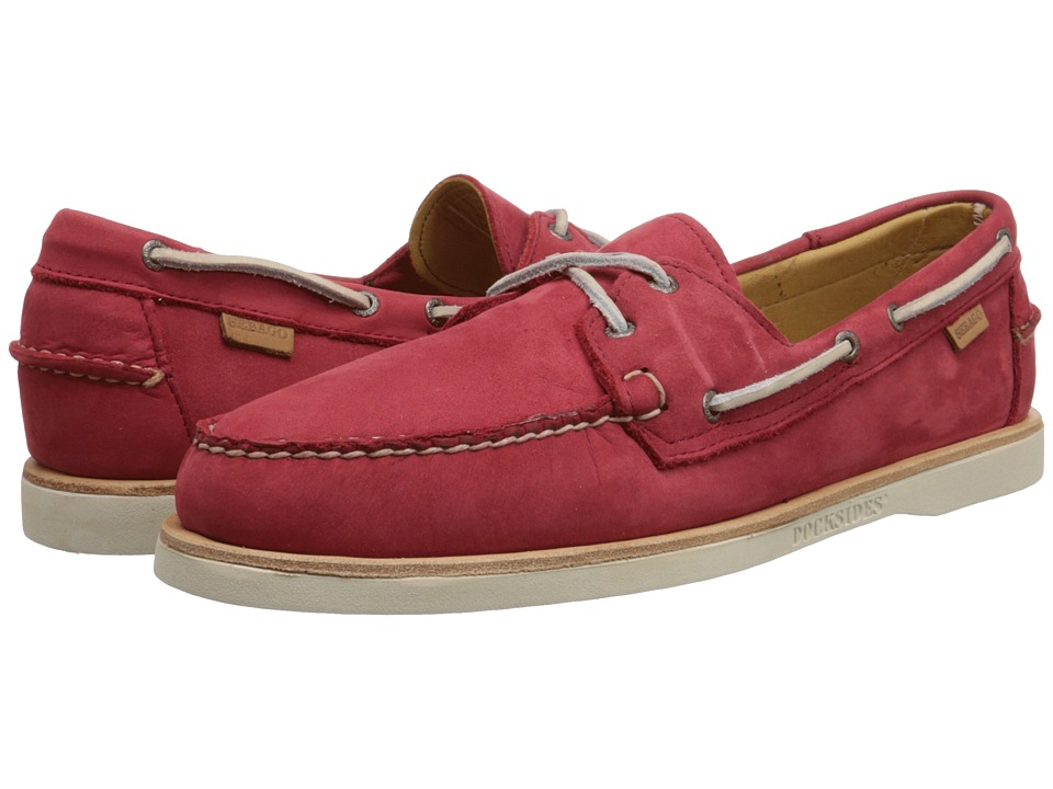 Sebago Crest Docksides (Red Nubuck) Men