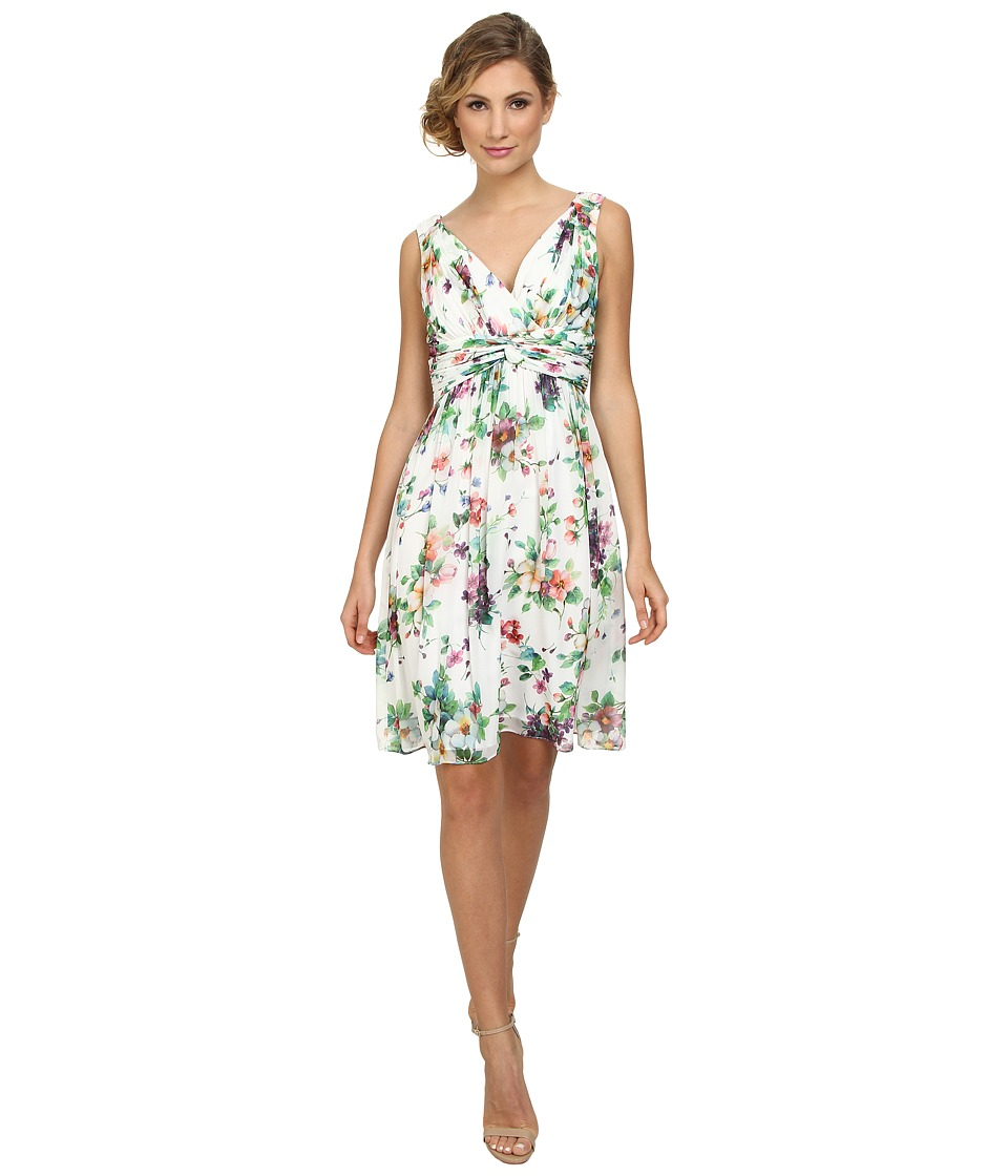 Donna Morgan Jessie Chiffon in Garden Floral Garden Floral Dress