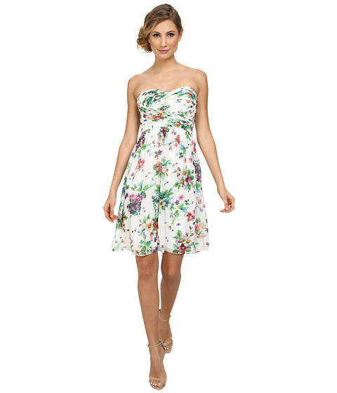 Donna Morgan - Sarah Chiffon in Garden Floral (Garden Floral) Women's Dress