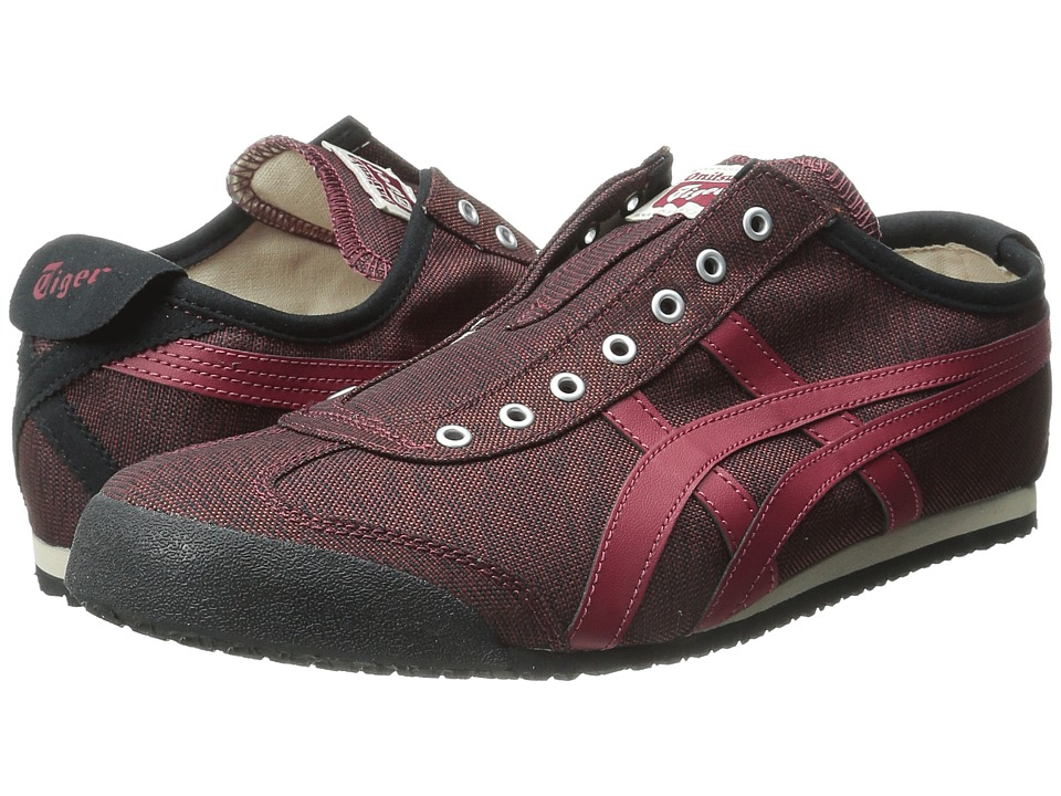 Onitsuka Tiger by Asics - Mexico 66 Slip-On (Burgundy/Burgundy) Shoes