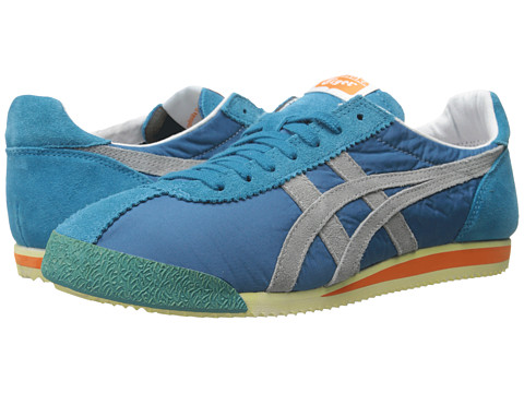 Onitsuka Tiger by Asics - Tiger Corsair VIN (Primary Cyan/Light Grey) Shoes