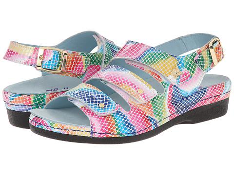 Helle Comfort - 356-F (Multi Snake) Women's Sandals
