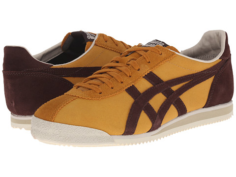 Onitsuka Tiger by Asics - Tiger Corsair (Tan/Dark Brown) Classic Shoes