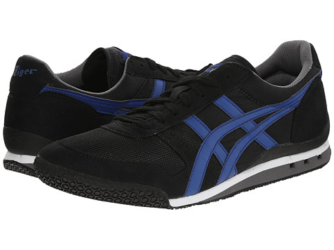 Onitsuka Tiger by Asics - Ultimate 81 (Black/Monaco Blue) Classic Shoes