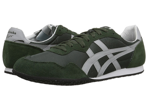 Onitsuka Tiger by Asics - Serrano (Duffel Bag/Grey) Classic Shoes