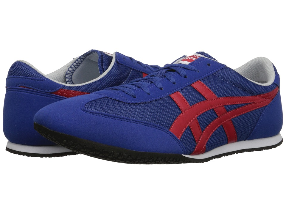 Onitsuka Tiger by Asics - Machu Racer (Monaco Blue/Red) Shoes