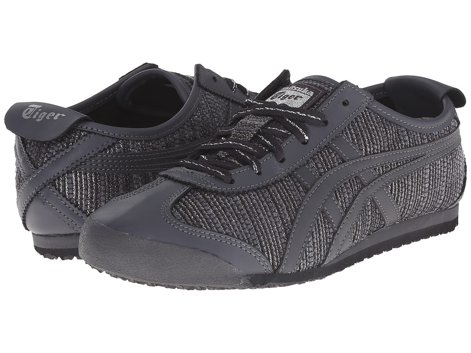 Onitsuka Tiger by Asics - Mexico 66 (Dark Grey/Dark Grey) Women's Classic Shoes