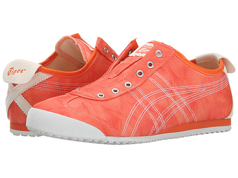 Onitsuka Tiger by Asics - Mexico 66 Slip-On (Orange/White) Women's Classic Shoes