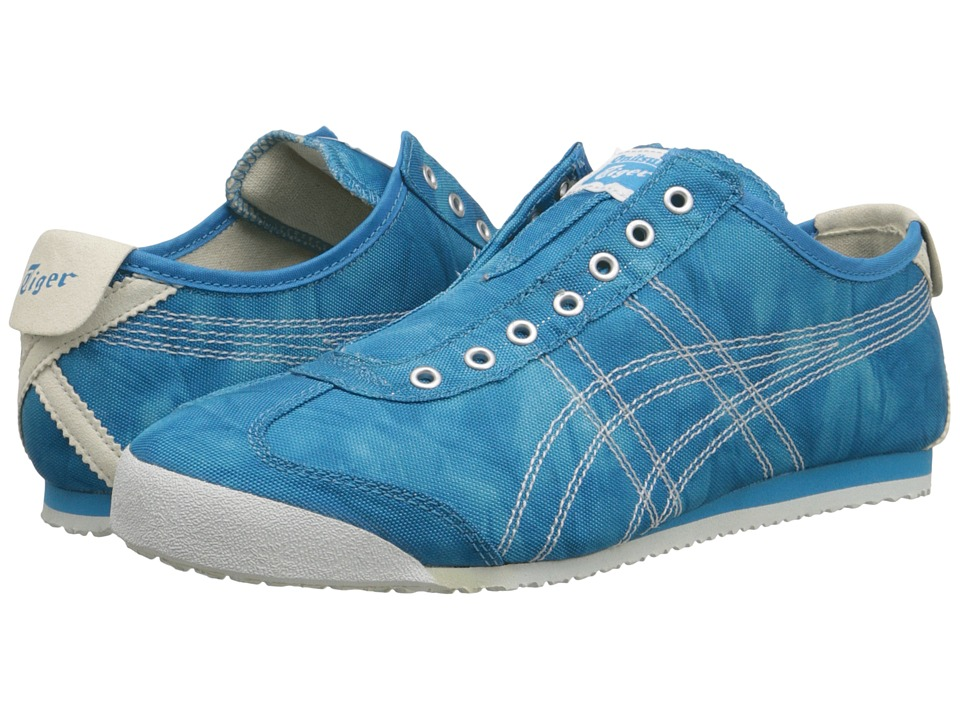 Onitsuka Tiger by Asics - Mexico 66 Slip-On (Mid Blue/White) Women's Classic Shoes