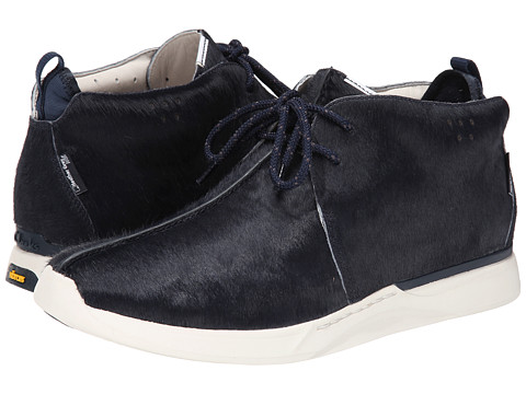 Clarks - Traxter Gray (Navy Leather) Men