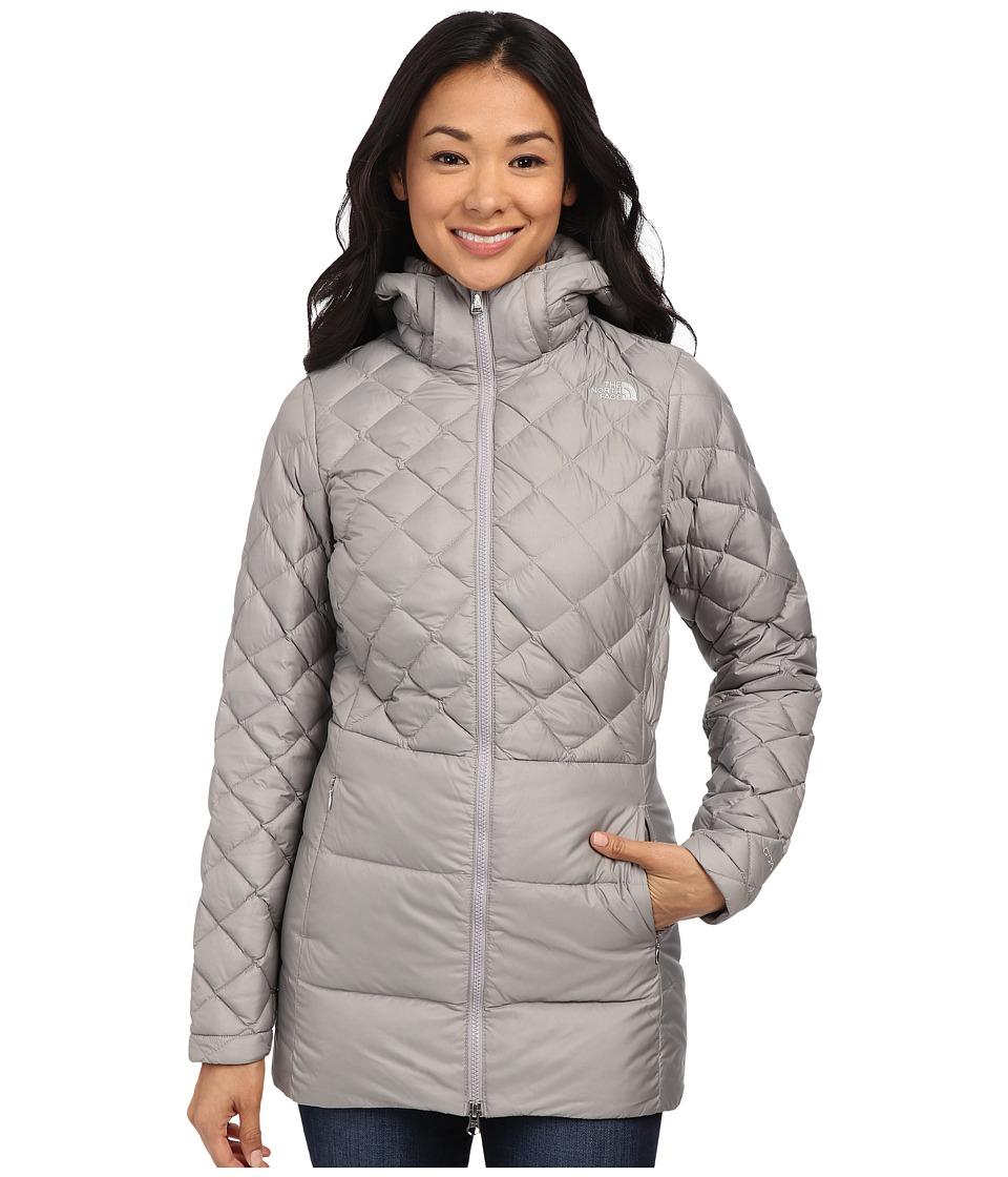 The North Face - Tyndall Coat (Metallic Silver) Women's Coat