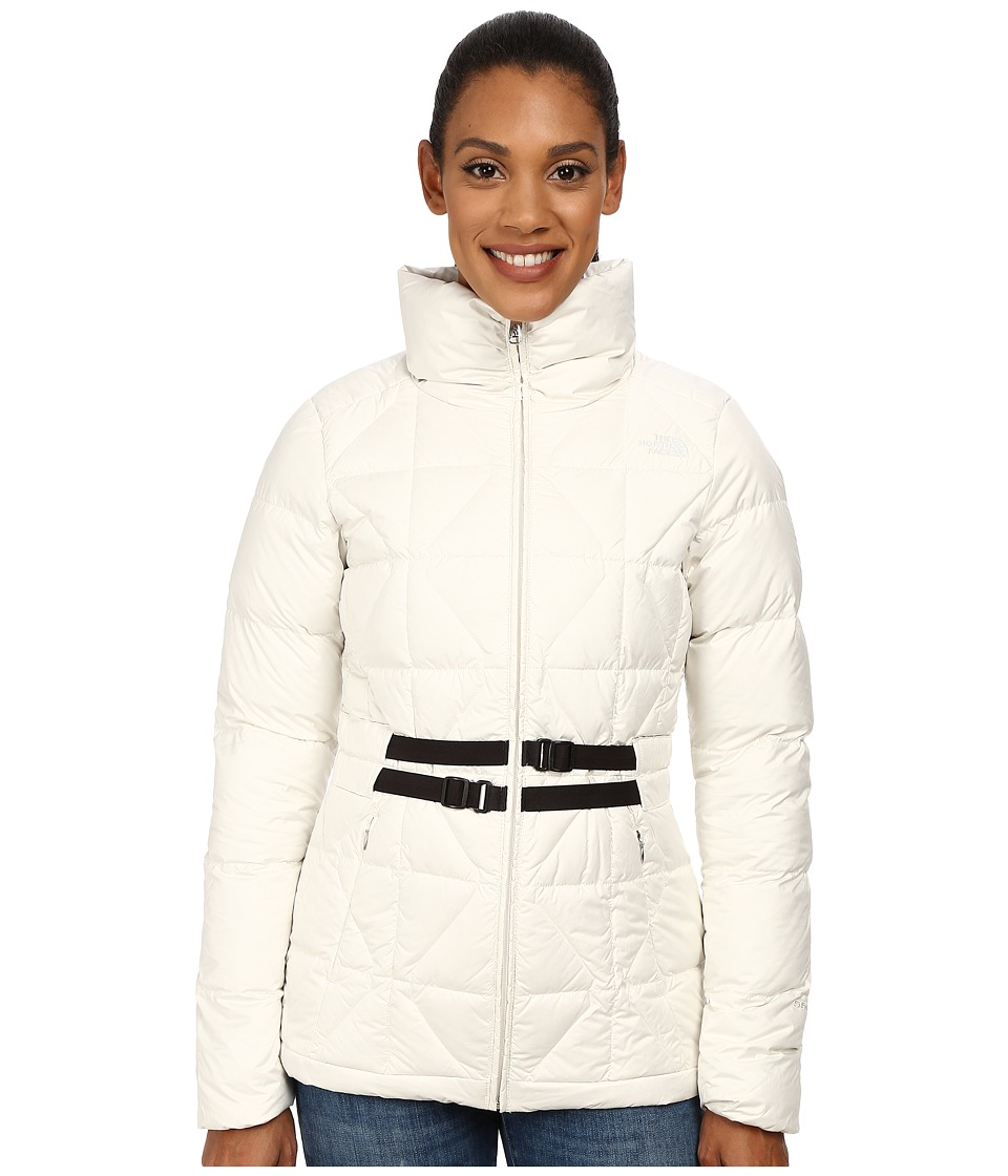 The North Face - Belted Mera Peak Jacket (Vaporous Grey) Women's Coat