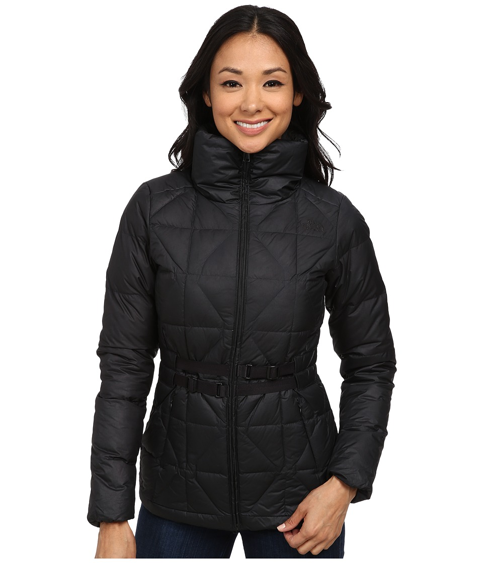 The North Face - Belted Mera Peak Jacket (TNF Black) Women's Coat