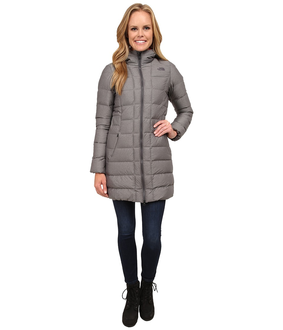 The North Face - Gotham Parka (Graphite Grey Heather) Women's Coat