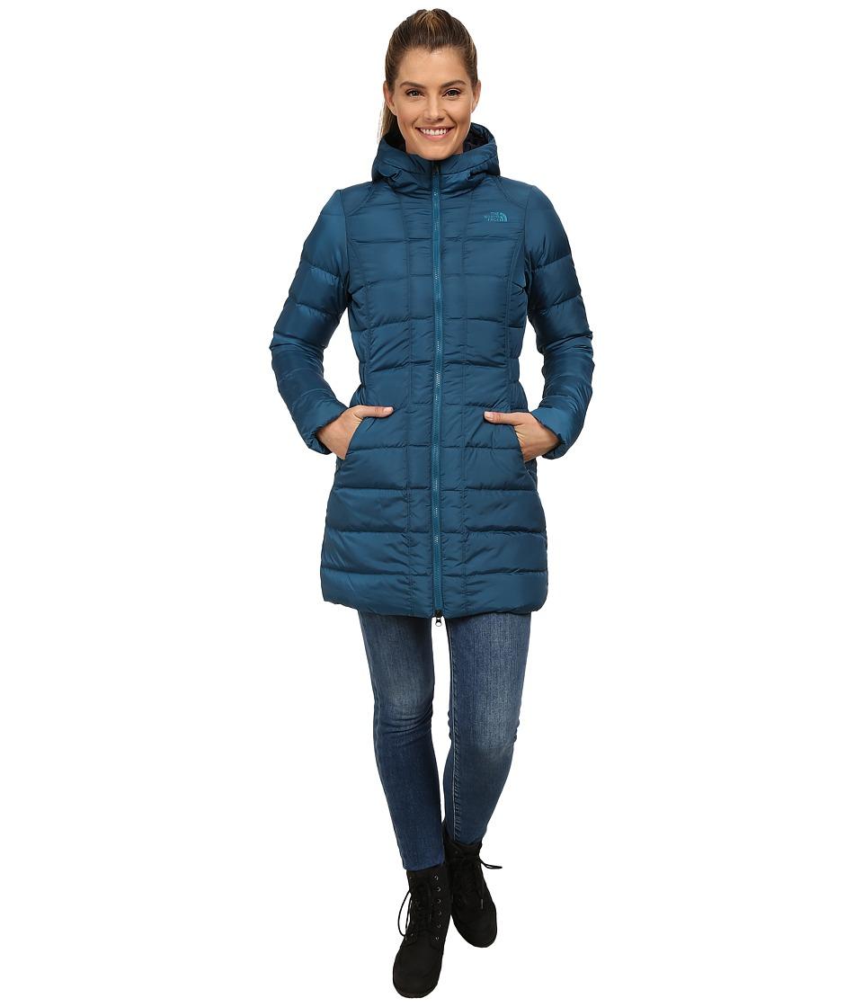 The North Face - Gotham Parka (Juniper Teal) Women's Coat