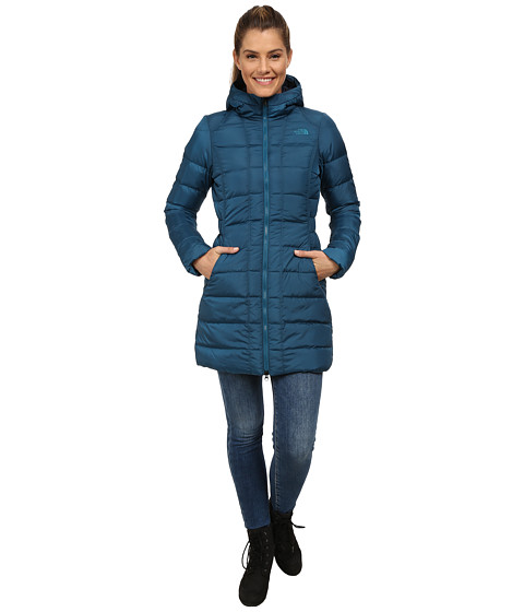 The North Face - Gotham Parka (Juniper Teal) Women
