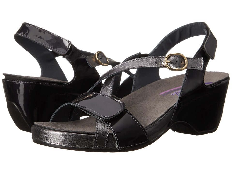 Helle Comfort - Akina (Gray Leopard) Women's 1-2 inch heel Shoes