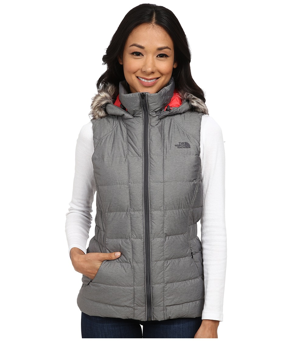 The North Face - Gotham Vest (Graphite Grey Heather) Women's Vest