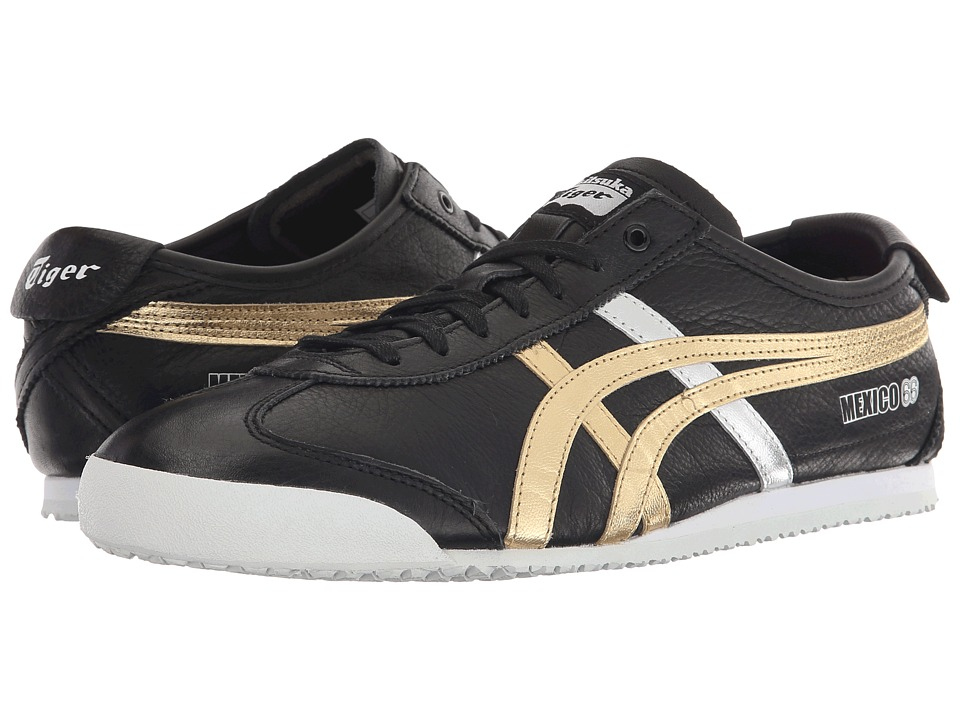 Onitsuka Tiger by Asics - Mexico 66 (Black/Gold) Shoes