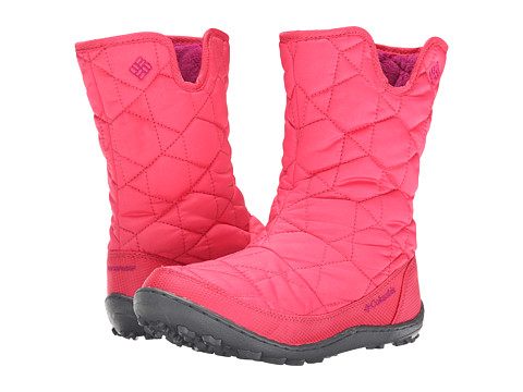 Columbia Kids - Minx Slip Omni-Heat Waterproof Boot (Little Kid/Big Kid) (Tango Pink/Deep Blush) Girls Shoes