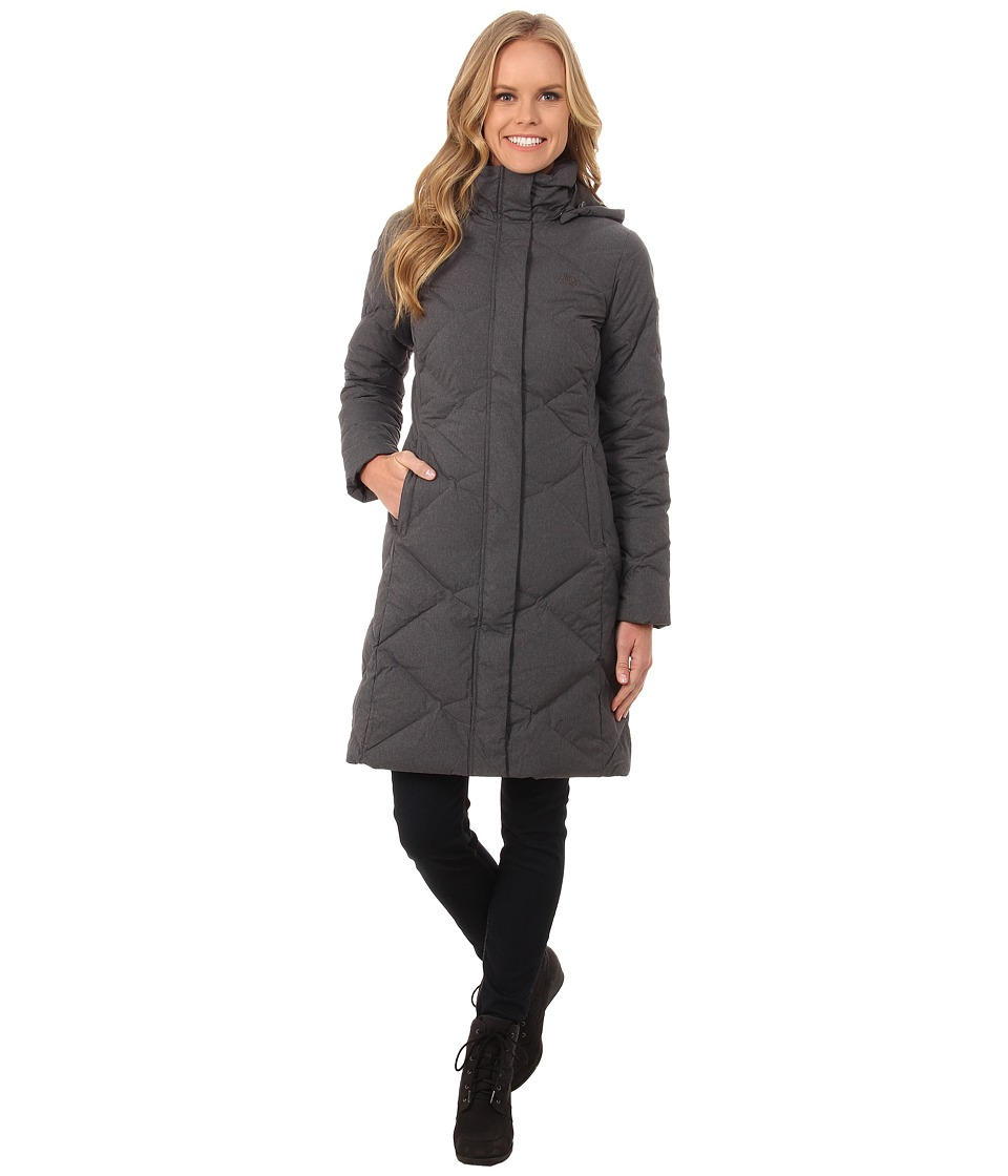 The North Face - Miss Metro Parka (Graphite Grey Heather) Women's Coat