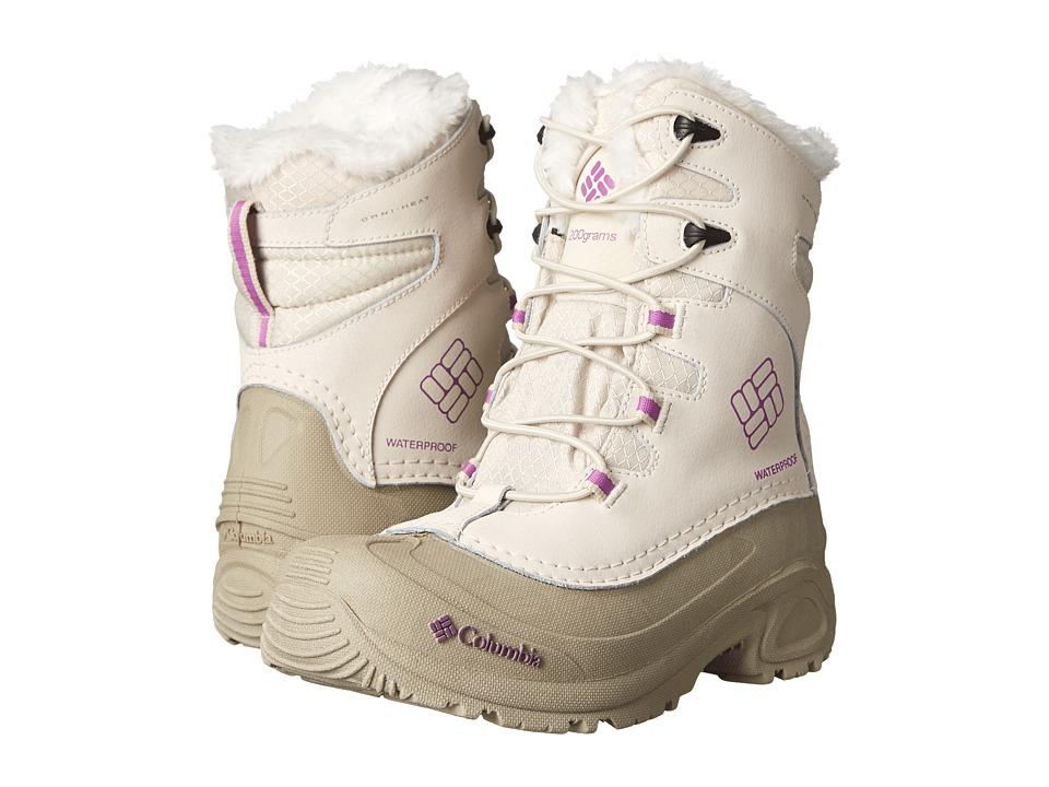 Columbia Kids Bugaboottm Plus III Omni-Heattm Boot (Little Kid/Big Kid) (Fawn/Razzle) Girls Shoes