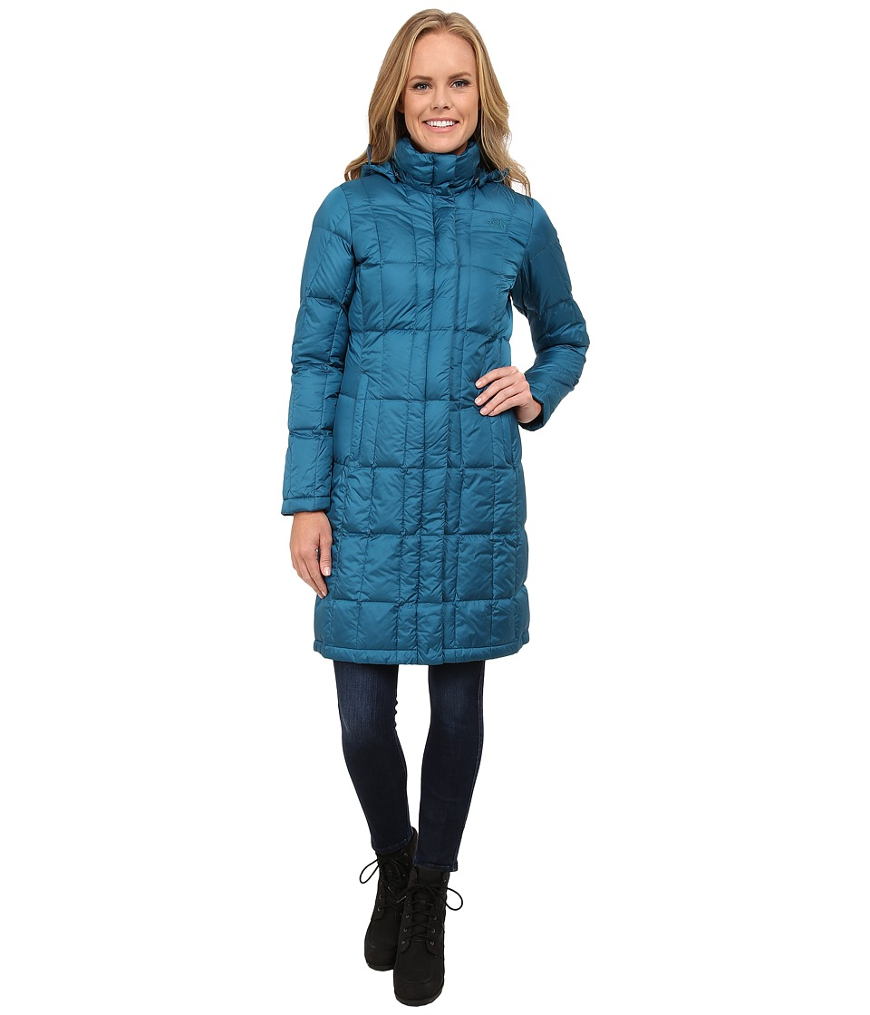 The North Face - Metropolis Parka (Juniper Teal) Women's Coat