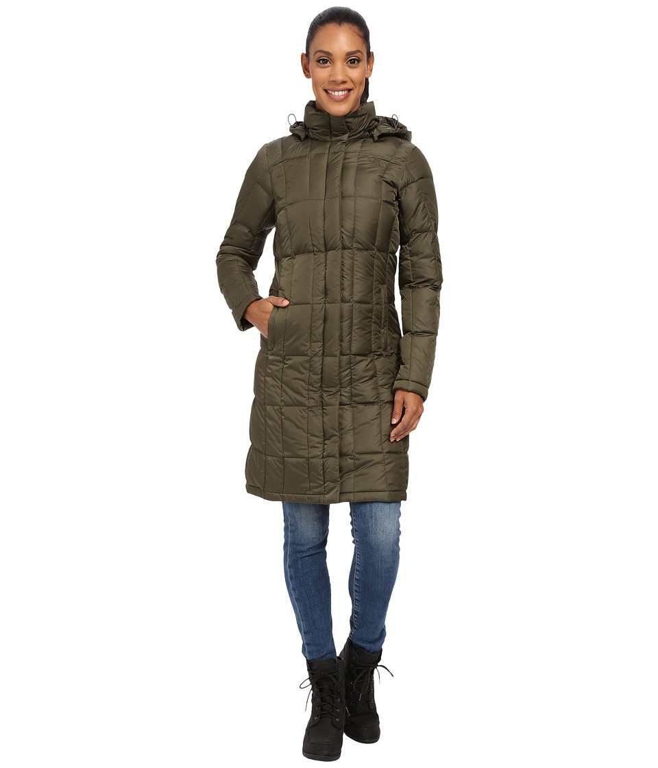 The North Face - Metropolis Parka (Forest Night Green) Women's Coat