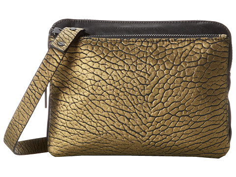 French Connection - Future Mover Crossbody (Gold) Cross Body Handbags