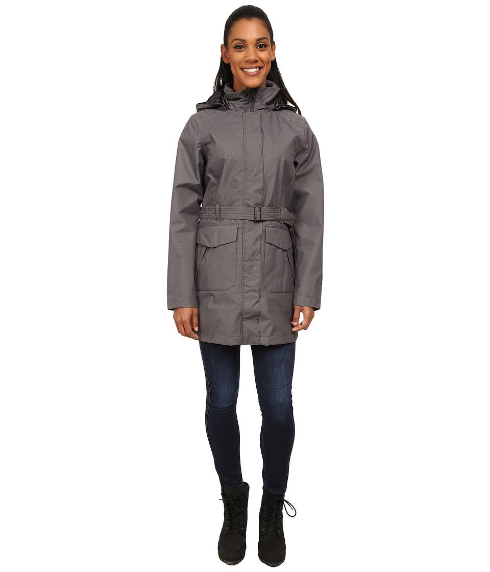 The North Face - Elsey Parka (Graphite Grey Heather) Women's Coat