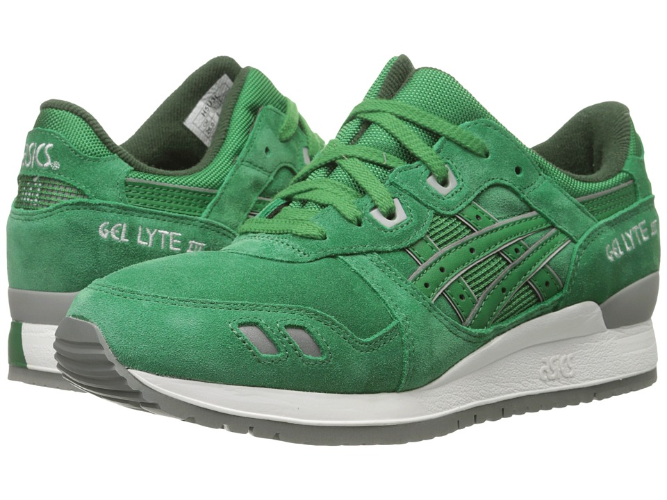 Onitsuka Tiger by Asics - Gel-Lyte III (Green/Green) Classic Shoes