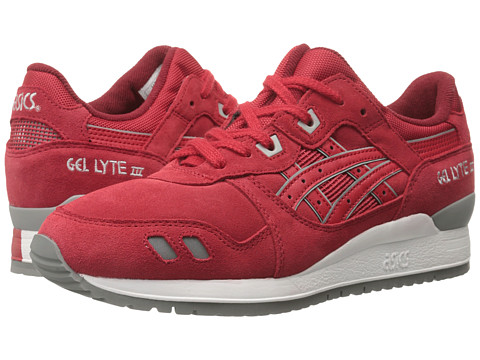 Onitsuka Tiger by Asics - Gel-Lyte III (Red/Red) Classic Shoes