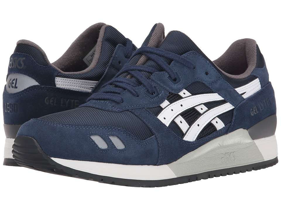 Onitsuka Tiger by Asics - Gel-Lyte III (Navy/White) Classic Shoes