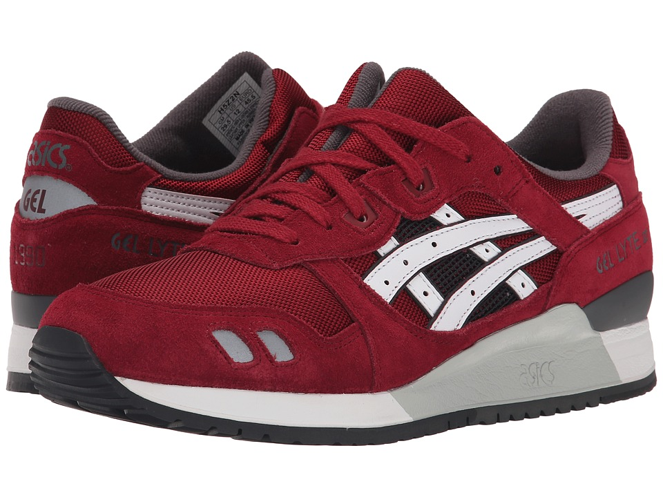 Onitsuka Tiger by Asics - Gel-Lyte III (Burgundy/White) Classic Shoes