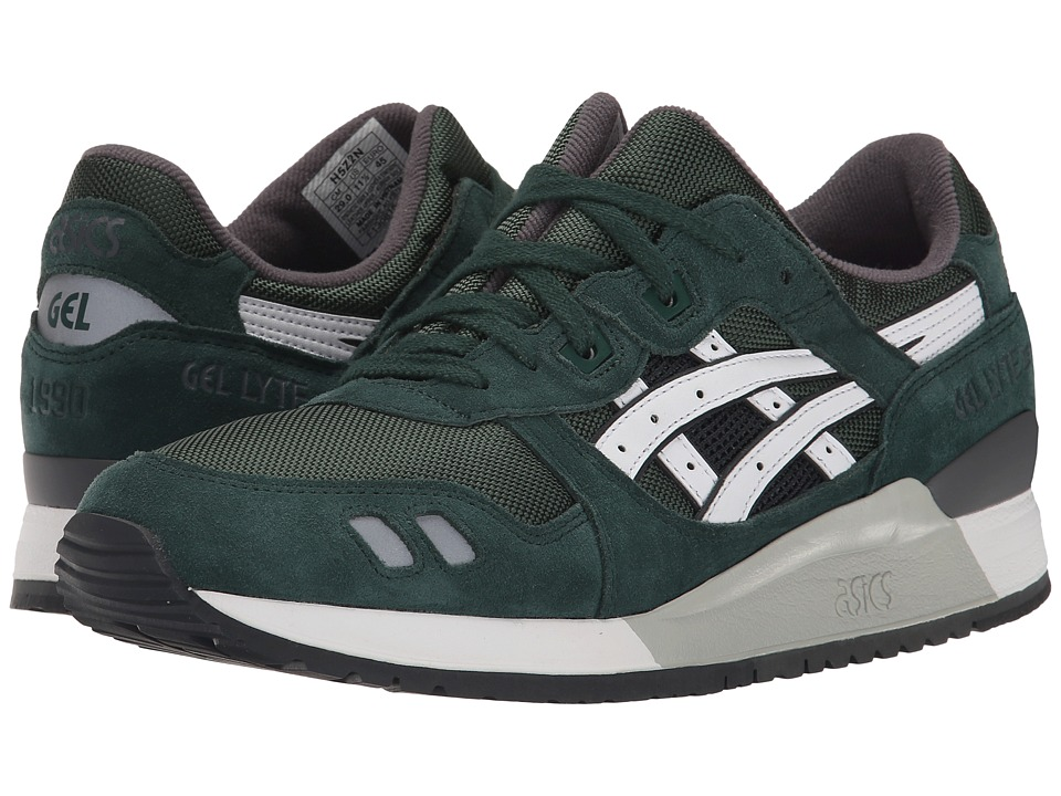 Onitsuka Tiger by Asics - Gel-Lyte III (Dark Green/White) Classic Shoes