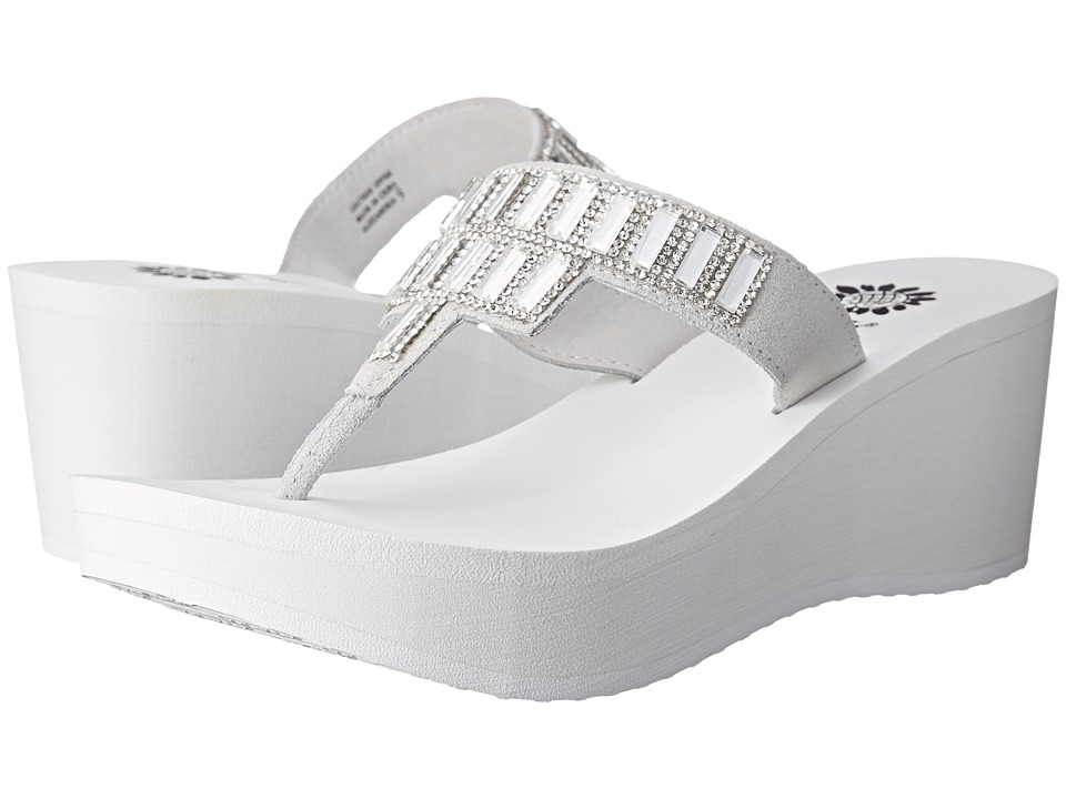 Yellow Box - Alexandria (White) Women's Sandals