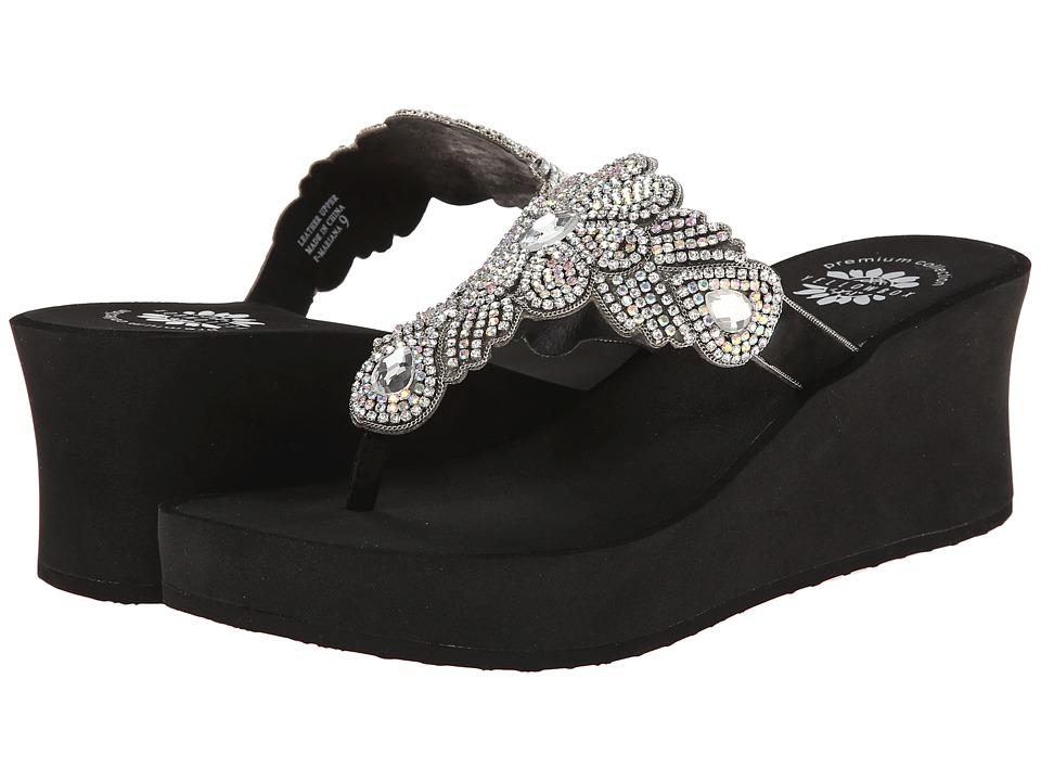 Yellow Box - P-Mariana (Black) Women's Sandals