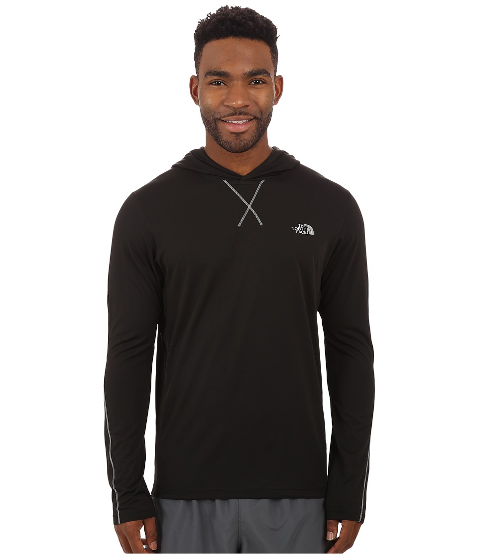 The North Face - Ampere Hoodie (TNF Black/Asphalt Grey Heather) Men's Sweatshirt