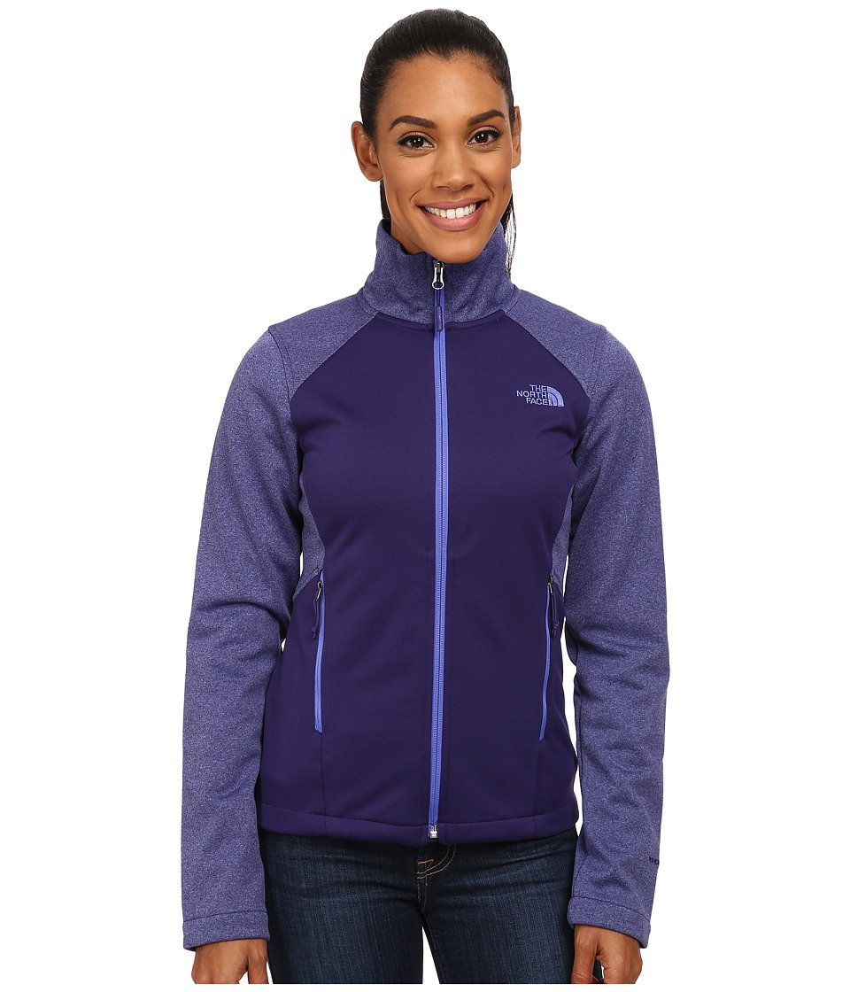 The North Face - Canyonwall Jacket (Garnet Purple/Garnet Purple Heather) Women's Sweatshirt